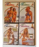MALIBU PILATES  Workout DVD Set of 4 Total Body, Dream Body etc. Set of ... - $25.00