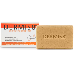 Dermis8 Exfoliating Brightening Soap 7oz 200gr | Carrot Soap - $11.75