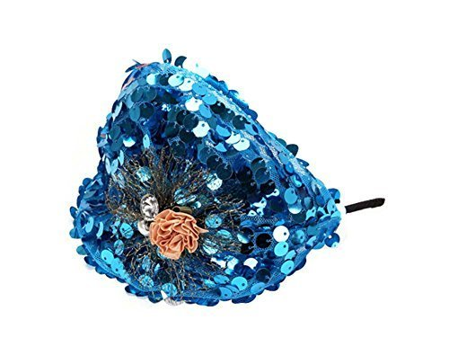 Elegant Headband Fashion Hairband Wide Headwrap Hair Accessories, Blue