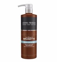 John Frieda Brilliant Brunette Colour Protecting Moisturising Shampoo 500ml - $25.59