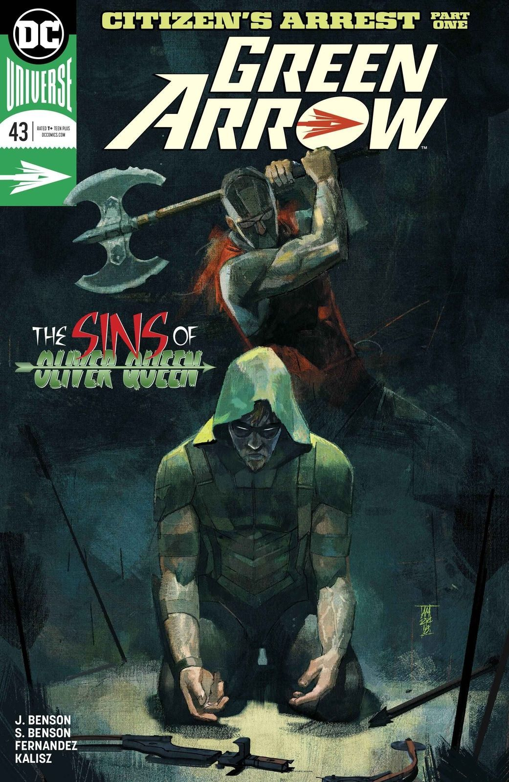 Green Arrow #43 NM DC