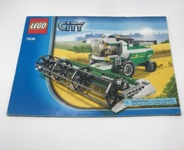 Lego City 7636  Instruction Booklet Only - $12.74
