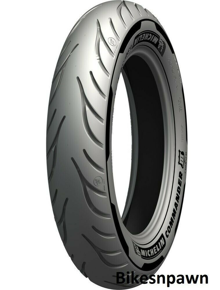Michelin Commander III Cruiser 140/75R17 Front Motorcycle Tire 2X Life 67V
