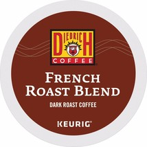 Diedrich French Roast Coffee, 48 count Keurig K cups, FREE SHIPPING  - $34.58