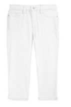Jessica Simpson Rolled Skinny Crop Jeans, Big Girls (7-16) , Size 8, White - $15.83