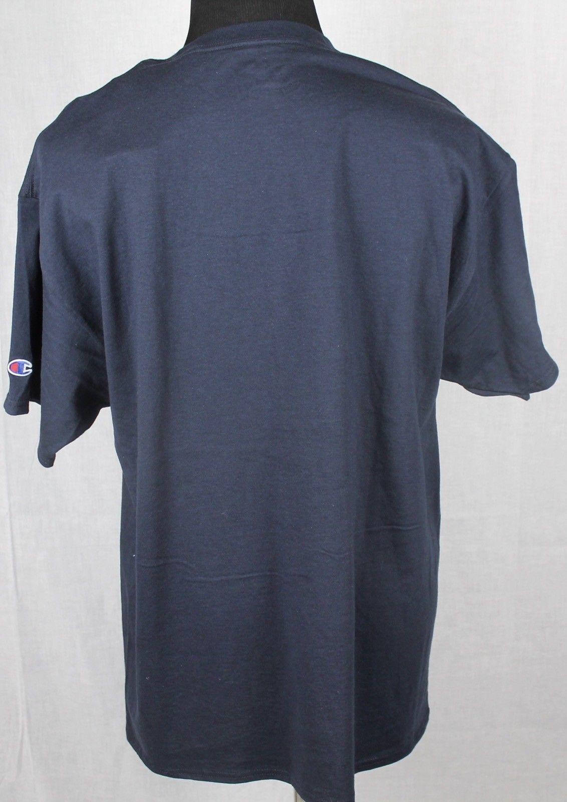 Champion Utah State Mens Short Sleeve T-Shirt sz XL Blue image 4