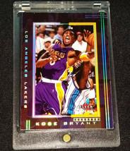 2001-02 FLEER GENUINE #101 KOBE BRYANT -  LOS ANGELES LAKERS - $9.63