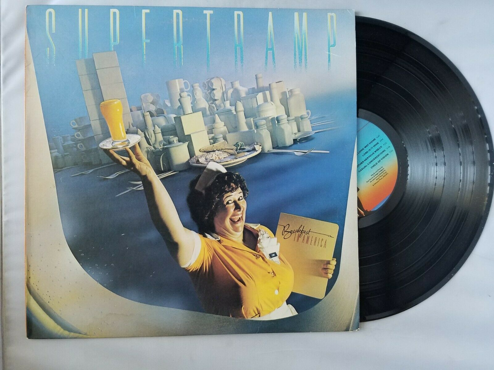 Supertramp Breakfast In America Disque Vinyle Vintage 1979 A & M Records