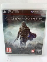 Middle-Earth: Shadow of Mordor PS3 Playstation 3 Video Game - $6.33