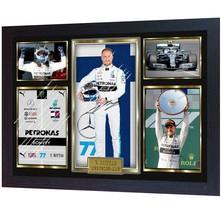 New Valtteri Bottas Mercedes lewis hamilton F1 signed autographed Framed - $21.79