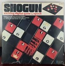 VINTAGE SHOGUN EXCITING DIGITAL BOARD GAME EPOCH PLAYTHINGS BOXED 1976 C... - £10.76 GBP