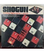 VINTAGE SHOGUN EXCITING DIGITAL BOARD GAME EPOCH PLAYTHINGS BOXED 1976 C... - $14.85