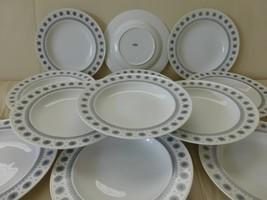 Rosenthal T API O Wirkkala Ice Blossom 1960S Rim Soup Plates Set Of 12 - $200.00