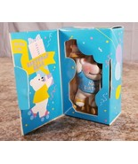 Avon Special Delivery Musical Bearthday Greeting PVC Figure  - $11.62