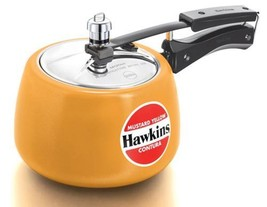 Hawkins Contura Ceramic-Coated Pressure Cooker , Indian Stove Top Steame... - $68.60+