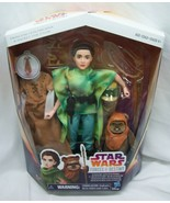 Star Wars Forces of Destiny PRINCESS LEIA ORGANA WICKET Action Figures T... - $24.74