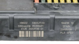 Mini Cooper Clubman R55 Fuse Junction Box Power Control Module 61.35 3453738-01 image 2