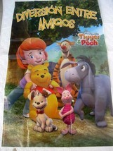 Winnie Tigger Pooh Party Supplies BANNER DARBY POSTER Decoration Favors ... - $6.88