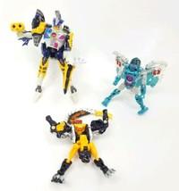 Vtg Hasbro Takara Transformers Lot Robots In Disguise Sky-Byte Shark Inc... - $22.30