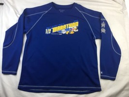 Walt Disney World 2012 1/2 Marathon Donald Duck Size XL Blue Champion Do... - $14.01