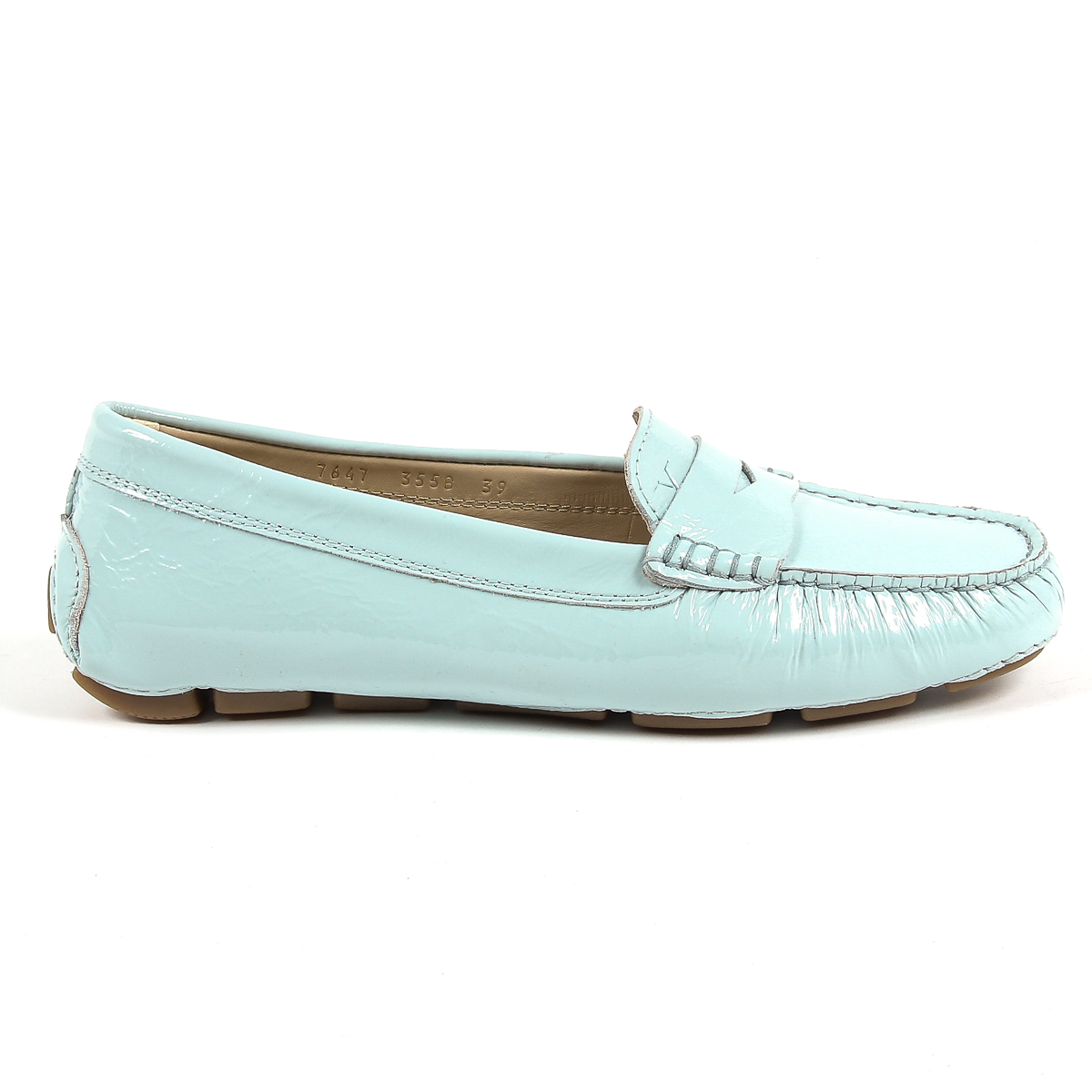 Primary image for V 1969 Italia Womens Loafer Light Blue AMALFI