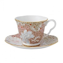 Wedgwood Daisy Pink Teacup & Saucer Tea Story Brand New in Gift Box #400... - $58.06
