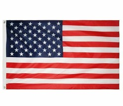3'x5' Betsy Flags United States Flags Brass Grommets Nylon Sewn Embroidered SEAL image 2