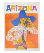 "11 x 14"" canvas art print~ Amazing Arizona retro travel, tourism, mid-ce... - $23.99"