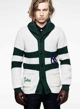 G Star RAW Luxury New Pit Cardigan Knit, Grey Marble, Size XXXL $400 - $89.75