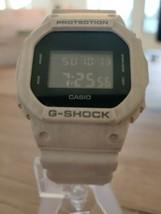 Used CASIO DW-5600SL-7JF G-shock slash pattern series Black White from J... - $147.84