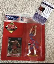RARE TONI KUKOC Signed Auto Chicago Bulls Starting Lineup Action Figure ... - $84.14