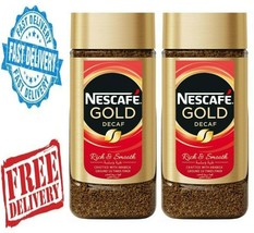 2X Nescafe Gold Decaffeinated Coffee Jar 3.5oz. – 100g - $40.00