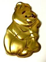 Winnie The Pooh Wilton Cake Pan 515-401 Birthday Party Gold Walt Disney  - $9.41