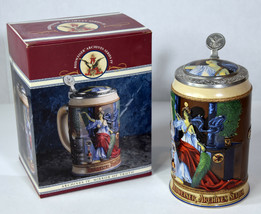 1995 Vintage Handcrafted Beer Stein Budweiser Mirror of Truth Archives S... - $18.99