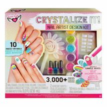 Kids Craft Nail Artist Design Kit Crystalize It! By Fashion Angels NEW Sealed 8+ image 1