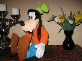 Euro Disney Europe Jumbo 19in. - 48 cm GOOFY Plush Doll - $72.57