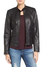 Adorable Women Genuine Lambskin Leather Motorcycle Jacket Slim fit Designer - $149.99