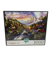 Buffalo 2000 piece puzzle Engine 47 Two Thousand Piece Puzzle Collection - $12.86
