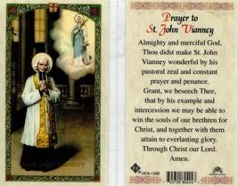 Prayer to Saint John Vianney Holy Card - EB274 -  Constant Prayer and Pe... - $2.79
