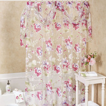 "Popular Bath Flower Haven Collection - 70"" x 72"" Bathroom Shower Curtain - $28.79"