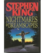 VINTAGE 1993 Stephen King Nightmares & Dreamscapes Hardcover Book - $49.49