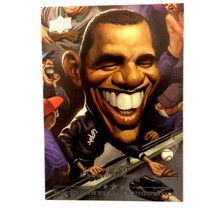 Barack Obama 2008 Upper Deck Presidential Predictor Insert Card #4  - $9.85