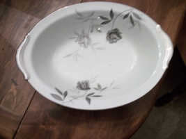 "Noritake Rosamor 10"" Oval Vegetable Bowl - $60.00"