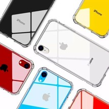 CLEAR BUMPER CASE FOR APPLE IPHONE 8 Plus USA SELLER Same Day Shipping - $2.96