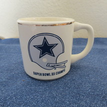 Vintage Super Bowl XII Champs Dallas Cowboys coffee mug - $33.00