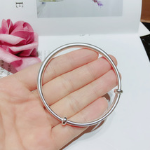 Pure silver 999 push-pull bracelet with pure silver - $26.89