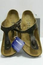 Birkenstock Gizeh BS thong sandals Tabacco Brown Women's, SZ 7 - $75.99