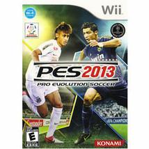 Pro Evolution Soccer 2013 (Nintendo Wii, 2012) - $10.88