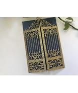 Glitter Gold Invitation Cards,50pcs Wedding Cards,Laser Cut Wedding Invi... - $66.30