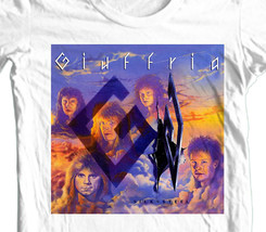 Giuffria Silk & Steel T-shirt 80's retro heavy glam metal cotton graphic tee image 1